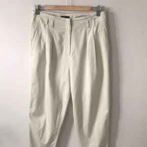 Top Shop  pleated high waist summer pants